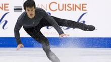 Patrick Chan has won the last two world championships. (Nathan Denette/THE CANADIAN PRESS)