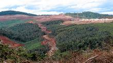 Site where Sherritt International Corp. and its partners are building the Ambatovy nickel mine in Madagascar. (Geoffrey York/The Globe and Mail)