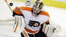 Philadelphia Flyers goalie Sergei Bobrovsky (Gene J. Puskar/The Associated Press)