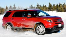 2011 Ford Explorer (Michael Bettencourt for The Globe and Mail)