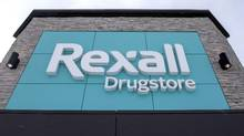 A Rexall drugstore is shown in Ottawa. (Justin Tang/THE CANADIAN PRESS)