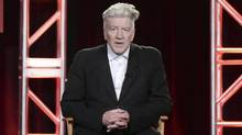 David Lynch attends the 2017 Winter Television Critics Association press tour on Monday in Pasadena, Calif. (Richard Shotwell/Richard Shotwell/Invision/AP)