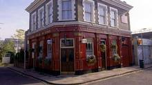 "The ""Vic"" pub from the BBC soap opera ""Eastenders"": The very picture of tedium? (AFP/Getty Images)"