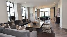 """Home of the Week, 68 Yorkville Ave., suite 1601 - """"his"""" side of a pair of 16th floor condos in downtown Toronto. (Chestnut Park Real Estate Ltd./Chestnut Park Real Estate Ltd.)"""