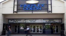 File photo of a Cineplex theatre in Toronto. (Jonathan Hayward/The Canadian Press)