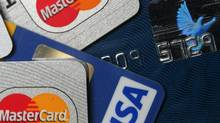A pile of MasterCard and VISA credit cards (THE CANADIAN PRESS/AP, Jochen Krause)
