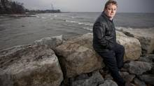David Henderson, managing director of XPV Capital Corp., is seen here along the Oakville shores of Lake Ontario. XPV puts money into companies that are developing leading-edge technologies involving water. (Tim Fraser for The Globe and Mail)