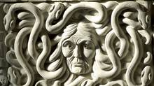 A carving at the entrance to the House of Commons. (Sean Kiplatrick/The Canadian Press/Sean Kiplatrick/The Canadian Press)