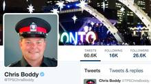 Chris Boddy's Twitter page.
