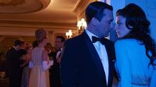 Jon Hamm and Jessica Paré in Man Men. (Reuters)