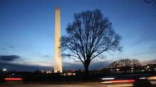 The Washington Monument will help orient you if you take an evening constitutional along the National Mall: The 169-metre tall obelisk is at one end and the U.S. Capitol Building is at the other. The monument itself remains closed because of damage done during an earthquake in August 2011. (Lian Mah/Lian Mah)
