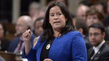 Federal Justice Minister Jody Wilson-Raybould told her provincial counterparts on Friday that she is reviewing the appointment process and intends to name judges soon. (Adrian Wyld/THE CANADIAN PRESS)