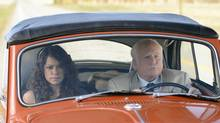 Tatiana Maslany and Richard Dreyfuss in Jason Priestley's Cas & Dylan. (Chris Large)