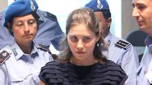 Amanda Knox arrives in Perugia's court of Appeal during the hearing of her appeal against her murder conviction on June 27, 2011 in Perugia, Italy (Franco Origlia/Franco Origlia/Getty Images)