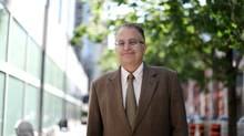Ambassador Francisco Suarez poses for a photograph June 14, 2013 in Ottawa. (Dave Chan FOR THE GLOBE AND MAIL)