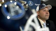 Toronto Argonauts new head coach Scott Milanovich attends a press conference to announce his appointment, in Toronto on Thursday December 1, 2011. (Chris Young/THE CANADIAN PRESS/Chris Young/THE CANADIAN PRESS)