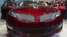 The 2013 Lincoln MKZ. (SHANNON STAPLETON/REUTERS)