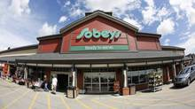 Sobey store in Calgary, Alberta, June 13, 2013. (Todd Korol For The Globe and Mail)