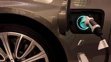 A BMW plug-in hybrid vehicle is seen in a BMW shop at Siam Paragon mall in Bangkok, Thailand on June 4, 2017. (Jorge Silva/REUTERS)