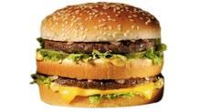 A Big Mac sandwich. (McDonald's Corp.)