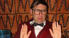 Neil Hamburger is the sweaty, sad-sack comedic persona reportedly created by musician and comedian Gregg Turkington. (Simone Turkington)