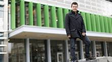 University of Calgary student Jordan Meyer already has a full-time job with an oil company. (Jeff McIntosh For the Globe and Mail)