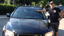 TV host, cook, and author Stefano Faita drives a2012 Volvo XC70 T6