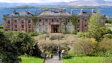 Bantry House on Ireland's west coast, open to the public since 1946, has a commanding view of the ocean and the Caha Mountains. (Dean Jobb/Dean Jobb)