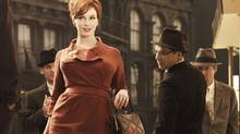 "Christina Hendricks as Joan Holloway in ""Mad Men"""