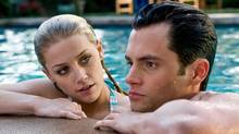 Amber Heard (left) and Penn Badgley star in Screen Gems' thriller THE STEPFATHER. (Chuck Zlotnick/© 2009 Screen Gems, Inc. All rights reserved.)