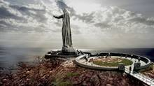An artist rendering of the proposed Mother Canada memorial in Cape Breton, N.S. (Never Forgotten National Memorial Foundation)