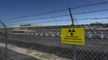Intermediate level waste is stored in these 'in-ground' structures. A Deep Geologic Repository (DGR) near the Bruce Power nuclear plant The Deep Geologic Repository is being proposed to store nuclear waste deep underground. (Fred Lum/The Globe and Mail)