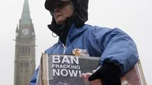 A report released Thursday concludes not enough is known about fracking to declare it safe. (Adrian Wyld/THE CANADIAN PRESS)