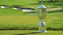 U.S. Open golf trophy