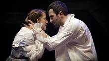 Ava Jane Markus and David Beazely in The Apology. (Trudie Lee Photography)