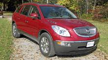 Buick Enclave (Bob English for The Globe and Mail)
