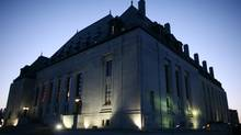 March 13, 2012: Supreme Court of Canada is seen in Ottawa. (Dave Chan/Dave Chan)