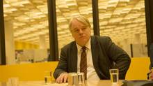 Philip Seymour Hoffman stars as a Germany intelligence officer, in A Most Wanted Man.