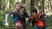 Chloe Grace Moretz and Zackary Arthur star as Cassie and Sam Sullivan in The 5th Wave. (Chuck Zlotnick)