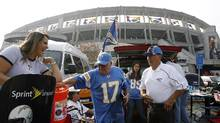 San Diego has a $1.1-billion proposal to replace aging Qualcomm Stadium, but it will require a public vote that likely wouldn't happen before June. (Denis Poroy/AP Photo)
