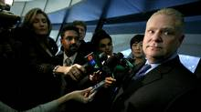 Toronto councillor Doug Ford, brother of Mayor Rob Ford. (Tim Fraser For The Globe and Mail)