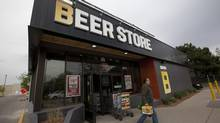 A Beer Store located in Oakville on May 14, 2013 that shows the new branding and updated store style, with a walk in Beer Fridge, exposed wood and new branding. (Deborah Baic/The Globe and Mail)