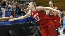 Canada's Lizanne Murphy has been a national team mainstay for almost a decade. (Julio Cortez/THE ASSOCIATED PRESS)