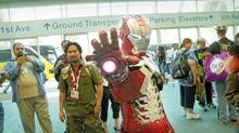 "A costumed Iron Man in a scene from the Morgan Spurlock documentary ""Comic-Con Episode IV: A Fan's Hope"" (Handout)"