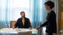 Sal (Dylan Taylor), left, and Maria (Jennifer Dale), right, in a scene from What Would Sal Do? (CraveTV)