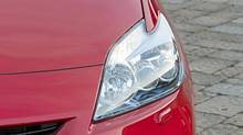 The headlights on a Toyota Prius. (David Dewhurst/Toyota)