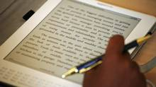 Amazon.com has halted sales of its Kindle e-reader in Canada. (Mark Lennihan/The Canadian Press/Mark Lennihan/The Canadian Press)