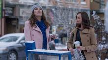 Gilmore Girls Lauren Graham and Alexis Bledel return to Stars Hollow in Netflix's much-anticipated four-part revival of the series. (Saeed Adyani/Netflix)