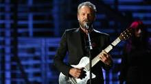 Sting will perform the halftime show at the NBA all-star game on Feb. 14 at the Air Canada Centre in Toronto. (Rich Fury/Invision/AP Photo)