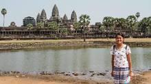 Ryerson International student Josephine Tse visiting Cambodia. (Josephine Tse)